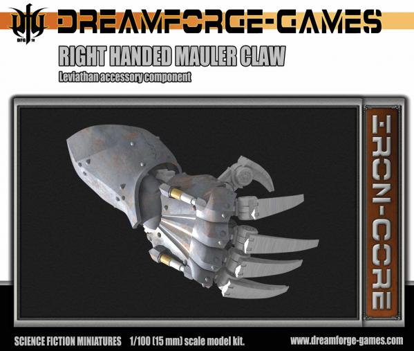 Dreamforge Games: Leviathan (15mm Version)- Right Handed Mauler Claw