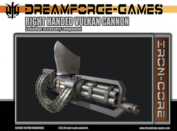 Dreamforge Games: Vulkan Cannon Leviathan Weapon (Right Handed)