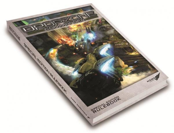Dropzone Commander: Limited Edition Hardback Rulebook (SALE)