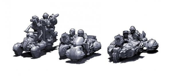Dropzone Commander: The Resistance: Attack ATVs