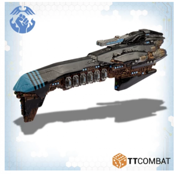 Dropzone Commander: The Resistance: Grand Cruiser