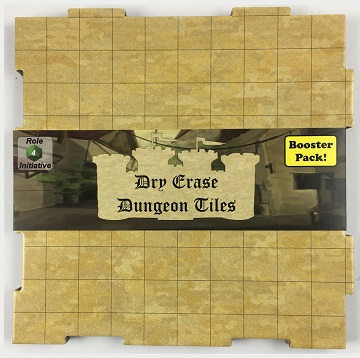 Dry Erase Dungeon Tiles: Booster Pack (Earthtone)
