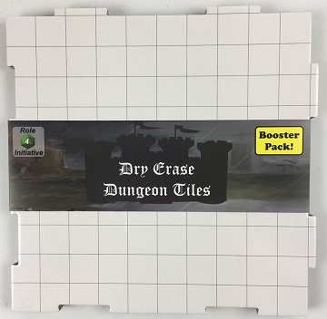 Dry Erase Dungeon Tiles: Booster Pack (White)