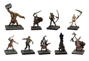 Dungeon Saga: Evil Dead Miniatures Set