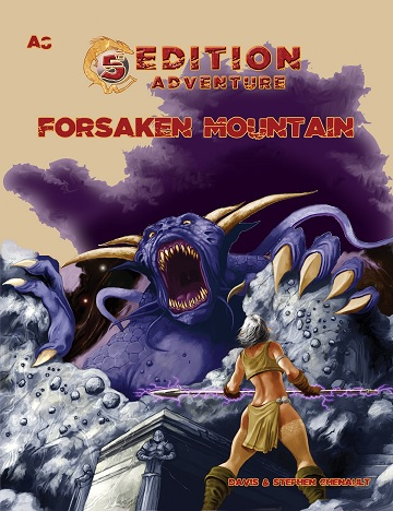 Dungeons & Dragons (5th Ed.): A8- FORSAKEN MOUNTAIN