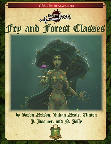 Dungeons & Dragons (5th Ed.): FEY AND FOREST CLASSES