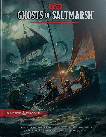 Dungeons & Dragons (5th Ed.): Ghosts of Saltmarsh (Standard Edition) [Damaged]