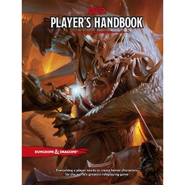 Dungeons & Dragons (5th Ed.): Player's Handbook [Damaged]