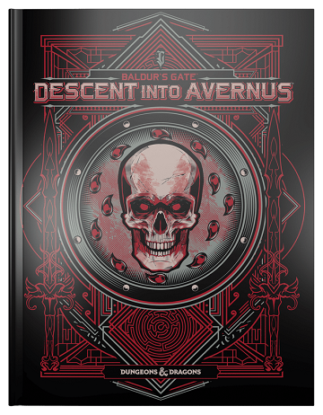 Dungeons & Dragons: Baldurs Gate: Descent into Avernus (HC Hobby Exclusive) [Damaged]
