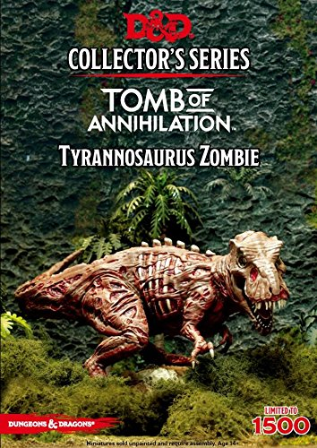 Dungeons & Dragons Collectors Series: Tomb of Annihilation- Tyrannosaurus Zombie