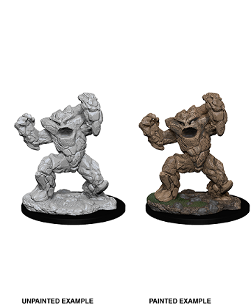 Dungeons & Dragons Nolzur's Marvelous Miniatures: Earth Elemental