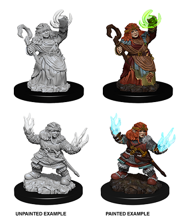 Dungeons & Dragons Nolzur's Marvelous Miniatures: FEMALE DWARF SUMMONER