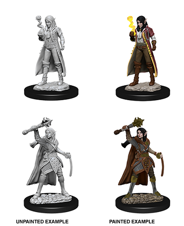 Dungeons & Dragons Nolzur's Marvelous Miniatures: Female Elf Cleric