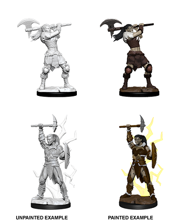 Dungeons & Dragons Nolzur's Marvelous Miniatures: Female Goliath Barbarian