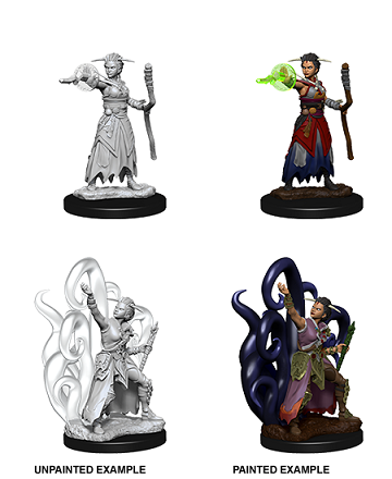 Dungeons & Dragons Nolzur's Marvelous Miniatures: Female Human Warlock