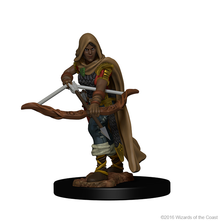 Female Human Ranger Miniature For Dungeons /& Dragons D/&D Pathfinder RPG