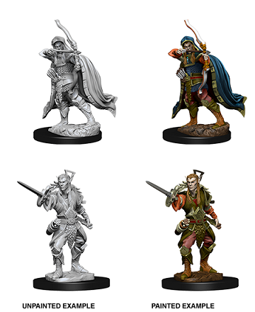 Dungeons & Dragons Nolzur's Marvelous Miniatures:  MALE ELF ROGUE