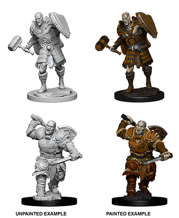 Dungeons & Dragons Nolzur's Marvelous Miniatures:  MALE GOLIATH FIGHTER