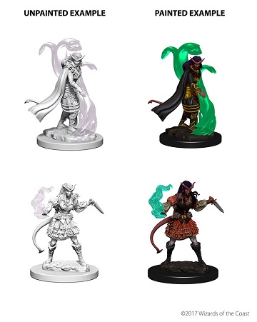 Dungeons & Dragons Nolzur's Marvelous Miniatures: Tiefling Sorcerer (Female)