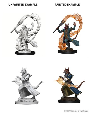 Dungeons & Dragons Nolzur's Marvelous Miniatures: Tiefling Sorcerer (Male)