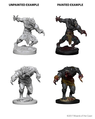 Dungeons & Dragons Nolzur's Marvelous Miniatures: Werewolves