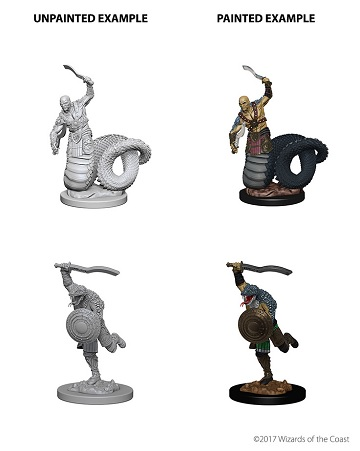Dungeons & Dragons Nolzur's Marvelous Miniatures: Yuan-Ti Malisons