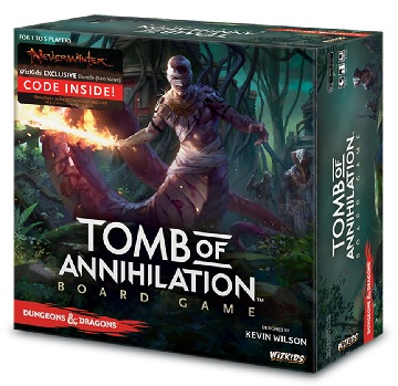 Dungeons & Dragons Tomb of Annihilation Board Game (Regular Edition)