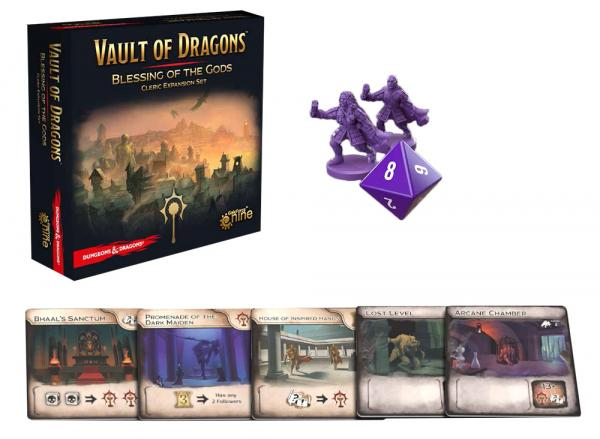 Dungeons & Dragons: Vault of Dragons- Blessing of the Gods (Cleric Expansion)