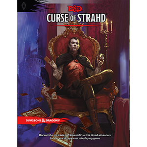Dungeons & Dragons (5th Ed.): Curse of Strahd [Damaged]