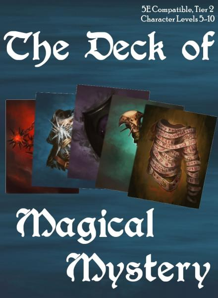 Dungeons & Dragons (5th Ed.): Deck of Magical Mystery (Tier 2)