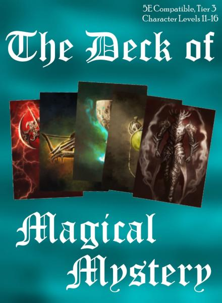 Dungeons & Dragons (5th Ed.): Deck of Magical Mystery (Tier 3)