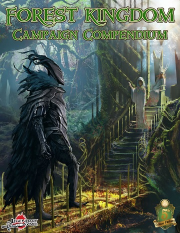 Dungeons & Dragons (5th Ed.): FOREST KINGDOM CAMPAIGN COMPENDIUM [Damaged]