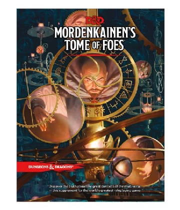 Dungeons & Dragons (5th Ed.): MORDENKAINENS TOME OF FOES