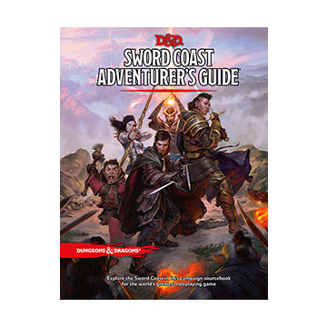 Dungeons & Dragons (5th Ed.): Sword Coast Adventurers Guide