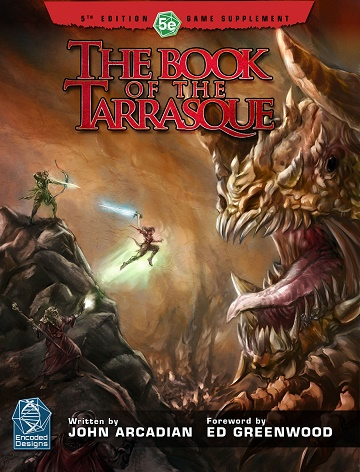 Dungeons & Dragons (5th Ed.): THE BOOK OF TARRASQUE