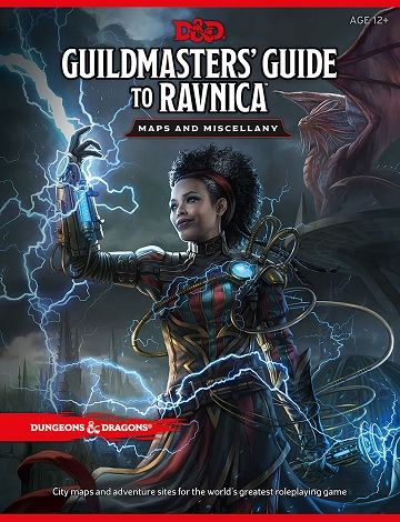 Dungeons & Dragons (5th Ed.): GUILDMASTERS GUIDE TO RAVNICA MAP PACK