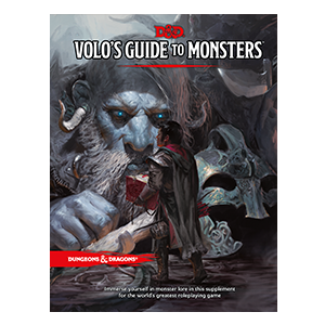 Dungeons & Dragons (5th Ed.): Volo's Guide to Monsters [Damaged]