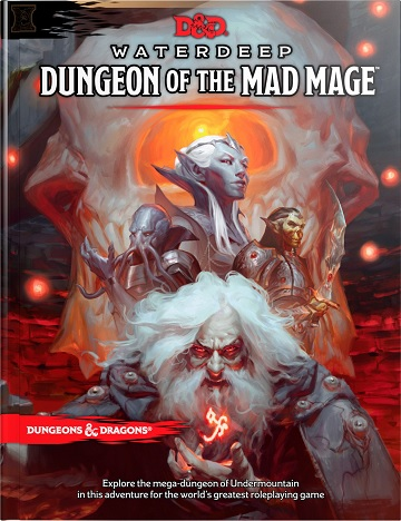 Dungeons & Dragons (5th Ed.): Waterdeep Dungeon Of The Mad Mage (HC)