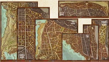 D&D Dragon Heist Maps