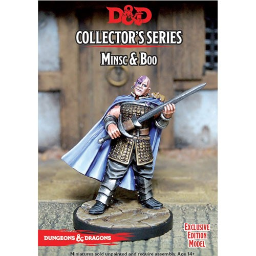 Dungeons & Dragons Collectors Series: Minsc & Boo