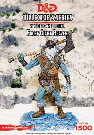 Dungeons & Dragons Collectors Series: Storm Kings Thunder- Frost Giant Reaver