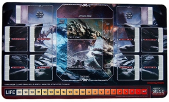Dungeons & Dragons Dice Masters: Faerûn Under Siege: Playmat