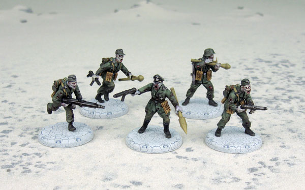 Dust Tactics/ Warfare: Axis: Ubertoten Assault Squad
