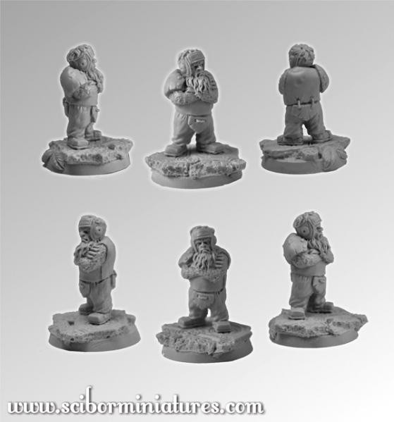 Scibor Monstrous Miniatures: Fantasy Football: Dwarf Player #2