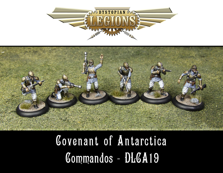 Dystopian Legions: Covenant Of Antarctica: Commandos [SALE]