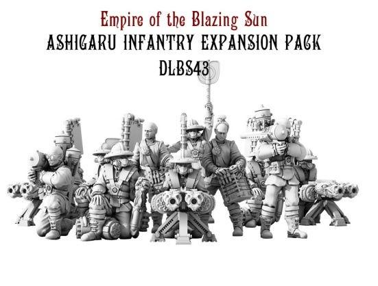 Dystopian Legions: Empire of the Blazing Sun: Ashigaru Infantry Expansion Pack [SALE]