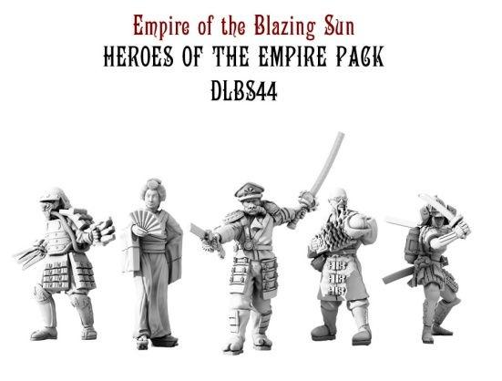 Dystopian Legions: Empire of the Blazing Sun: Heroes of the Empire Pack [SALE]