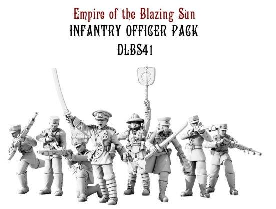 Dystopian Legions: Empire of the Blazing Sun: Infantry Officer Pack [SALE]