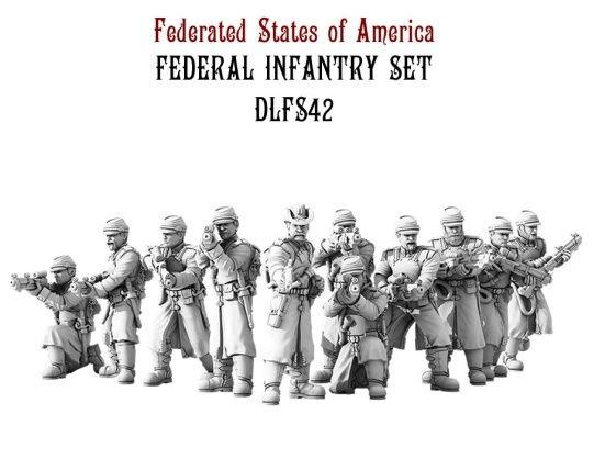 Dystopian Legions: Federated States of America: Federal Infantry Set [SALE]
