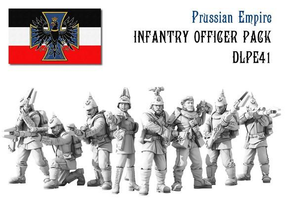 Dystopian Legions: Prussian Empire: Infantry Officer Pack [SALE]